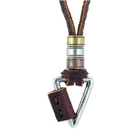 Free Shipping, 2015 Fashion Genuine Leather Necklace Sweater Chain New Arrival  Pendent Unisex Gift Men Women
