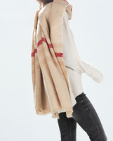 2014 British style winter scarves scarf pattern specialty soft burr striped men and women warm shawl---JOLINA SHOP