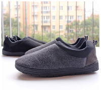 2014 warm men women memory foam slipper ,indoor /outdoor slipper shoes , winter slipper  for the couples ,2 colors