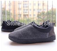 2014 warm men women memory foam slipper ,indoor /outdoor slipper shoes , winter slipper  for the couples ,2 colors