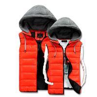 S-3XL Men Vest Winter Casual Men's Winter Waistcost  Fashion Male Sleeveless Jacket Outdoor Coat