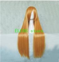 Bleach Orihime Inoue, EVA Hina Asuka, Tohou Project Suika Ibuki Orange 80cm cosplay Wig