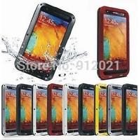 Waterproof Aluminum Gorilla Metal Cover Case for Samsung Galaxy Note 3 III N9000
