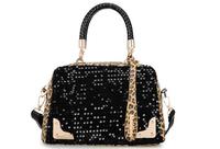 2014 Korean version of the influx of high-end fashion new hot ladies hand bag sequins Korean female leopard shoulder bag