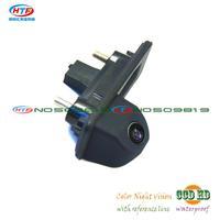 For sony ccd skoda octavia fabia audi A1 Car rear parking camera Trunk handle camera Night vision waterproof wire wireless