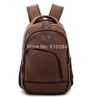 Vintage Backpack Solid Laptop Bag Men Women Bags Casual Canvas Charm Unisex Rucksack Military Hiking School Bag
