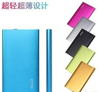 super thin Metal case Ultrathin Portable 5600mAh Power Bank External Battery Power Charger Polymer battery for all Mobile Phone