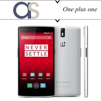 Оригинальный смартфон Oneplus один плюс один телефон 64 ГБ ROM MSM8974AC четырехъядерных процессоров 2.5 ГГц 3 ГБ оперативной памяти 5.0 '' 1280 * 720 P WCDMA NFC GPS LTE нескольких языков