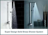 Enjoy Five Stars Hotel  Luxury Brand New Hot Sales Soild Shower Mixer Bathroom Shower System  Wall Mounted Bathtub Mixer