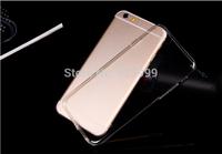 Free Shipping!1000PCS Soft Clear Silicone TPU Gel Skin Clear Case For iPhone 6 Plus,Transparent TPU Gel Case for iPhone6 Plus