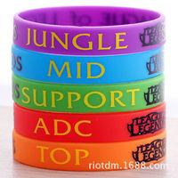 Cool LOL League of Legends Candy Color Theme Bracelets Hand catenary