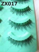 Japan CuCi yours magic false eyelashes are genuine goods animal hair 5 pair black zx017