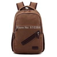 Backpacks Canvas Bag Men Student School Vintage Traveling Laptop Bags Rucksack Zipper Quality