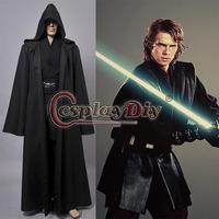 Custom Made Black Version Star Wars Anakin Skywalker Cosplay Costume For Halloween Party