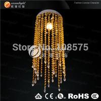 free shipping hot sales golden crystal chandelier lamp,rain drop crystal chandelier om88044