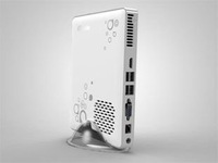 Hot Sales-Giada Mini Computer, Mini PC A50,Extremely Small and Stylish,Slient Operation ram 2G, HDD 320G, wifi, Bluetooth