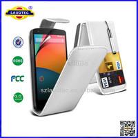 400pcs/lot for Nokia Lumia 830 Premium PU Leather Flip Cover Phone Case Back Skin for Nokia 830 Laudtec
