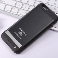 """Aluminium Alloy 3800mAh Rechargeable Case For iPhone6 4.7"""" Extra Power Pack Case Drop Shipping Free Shipping"""