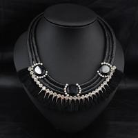 Wholesale Collares Perfume Women Jewelry Fashion Accoessories Vintage Violetta Handmade Statement Collar Necklace