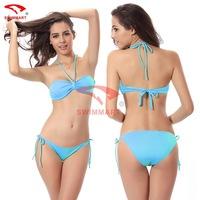 bikini set new 2014 women swimwear European and American female swimsuit sexy bikini biquini vintage 11 color