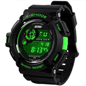 Relogios masculinos 2014 спорта на открытом воздухе часы мужчин из светодиодов цифровые часы военнослужащих спортивные часы цифровой кварц мужчин часы мужские из светодиодов часы мужские часы электронные часы