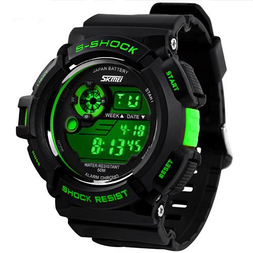 relogios masculinos 2014 Outdoor Sports Watches Men LED Digital Watch Military Men Sports Watches Digital Quartz Men LED Watch(China (Mainland))