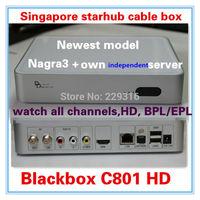 Blackbox hd C801 hd , singapore Nagra3 receiver,singapore starhub cable box Blackbox C801 HD could watch BPL&HD&HK drama movie