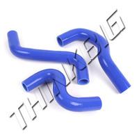 Silicone Radiator Hose Set For Toyota Vios Vitz Belta Yaris NCP91 NCP92 NCP93 NCP131 1.5L 07 to 12 Car 3pcs 3-Ply #9206689428