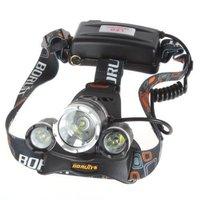 Super Bright Headlamp 5000 Lumen 3X CREE XML T6 +2X R2 LED Headlamp Headlight 18650 LED Head Light Lamp + Charger