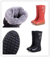 Flat Snowboots Women 2014 Autumn Winter Classical Fashion High Leg Winter Boots Warm Snow Shoes 3color Size 35-40