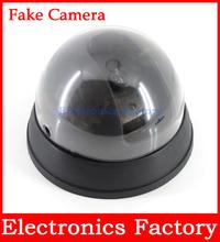 impermeable al aire libre de vigilancia simulada casa ir led cctv falsa cúpula cámara de seguridad + detector de movimiento(China (Mainland))