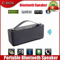 Free Shipping Aluminum HIFI Mini Bluetooth Speaker portable wireless sound box boombox caixas de som music column