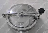 Stainless steel YAB manhole /AISI316 tank manhole cover/400mm round manhole door