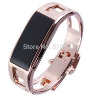 Aoluguya S18 Smart Cell Phone Titanium Alloy Wristband w/Remote Taking Photo Sport Sleep Monitor Free Shipping