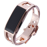 Aoluguya S18 Smart Cell Phone Titanium Alloy Wristband w/Remote Taking Photo Sport Sleep Monitor Free Shipping
