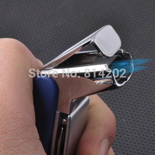 Gadgets Honest Double Torch Cigarette Lighter Refill Butane Cigar Gas Fuel Light(China (Mainland))