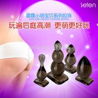 6 элементы водонепроницаемый вибрационные, прикладом пробки, 10 скорость Попки вибратором лучшие massager простаты эротический секс игрушки для женщин и мужчин