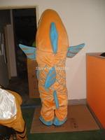 clown fish mascot costume brown fish costumes free shipping