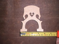 3 PCs High Quality Cello Bridge 4/4 French Style