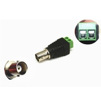(100pcs) Female BNC Connector With Terminal Block For CCTV