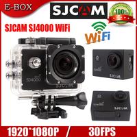 """Frree Shipping 100% Original SJCAM SJ4000 WiFi Action Camera Full HD 1080P 1.5""""LCD Diving 30M Waterproof Sport Camera DV"""
