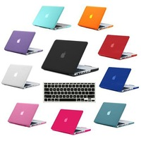 2 in 1 Crystal hard laptop shell case for Macbook Pro Retina 15.4 A1398+keyboard protector for Apple Mac Book Retina 15