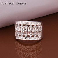 R269 New arrival this 925 sterling silver rings , sterling silver jewelry wholesale crystal ring for women