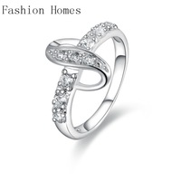 R438 New arrival this 925 sterling silver rings , sterling silver jewelry wholesale crystal ring for womenV