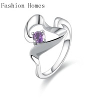 R467 New arrival this 925 sterling silver rings , sterling silver jewelry wholesale crystal ring for women