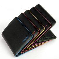 Hot Sale Male Genuine Leather Bifold Credit ID Cards Holder Slim Wallet Men Money Purse Billfold