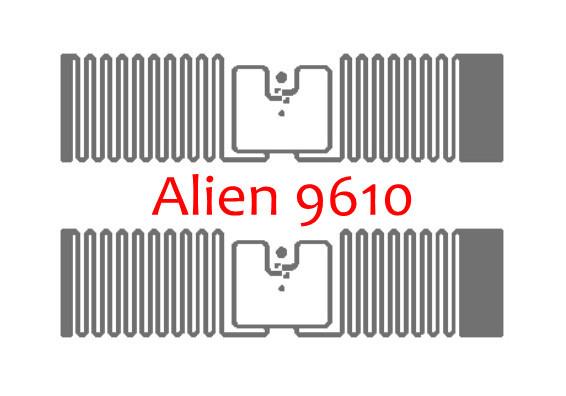 Alien 9610 RFID UHF Tag Inlay Sticker (Alien H3)(China (Mainland))