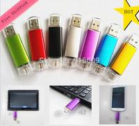 FC06 Hot Sale Metal Cool Enough Capacity 64GB Waterproof USB Flash 2.0 Memory Drive Stick Fit Phone