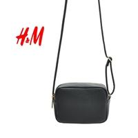 H&M fashion classic contracted square pillow small bag Inclined shoulder bag handbag handbags free shipping