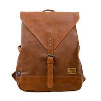Men's Backpack PU Leather Student Casual School Travel Pad Back Pack Bags Black Brown New Softback Bag Men Hot